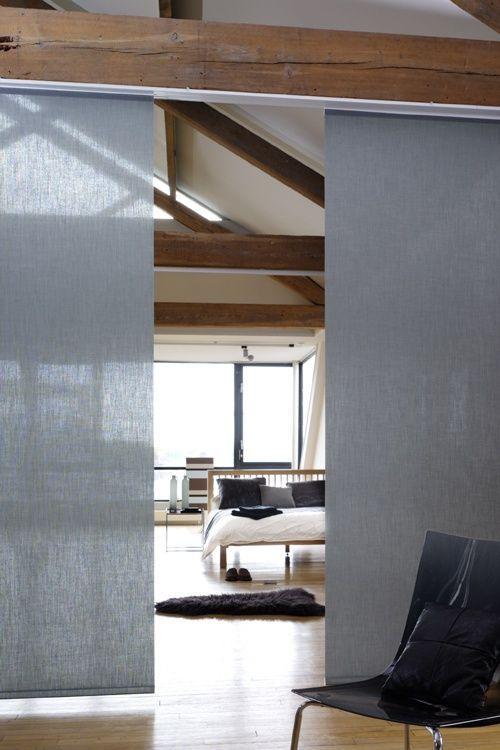 astuces pour délimiter ses espaces: les panneaux japonais