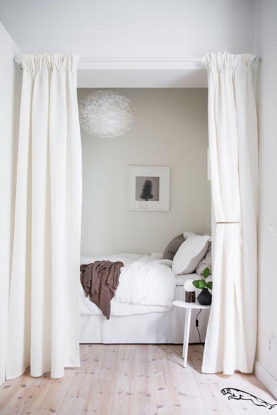 astuces pour délimiter ses espaces: les rideaux