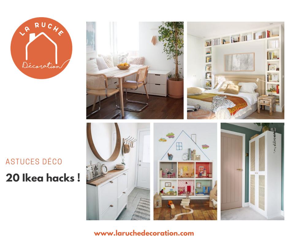 IKEA Hack: 20 façons de détourner des meubles basiques Ikéa !