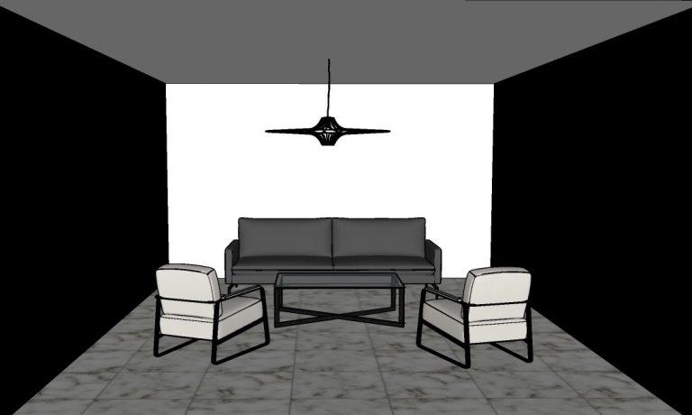 Astuces peinture : rétrécir une pièce