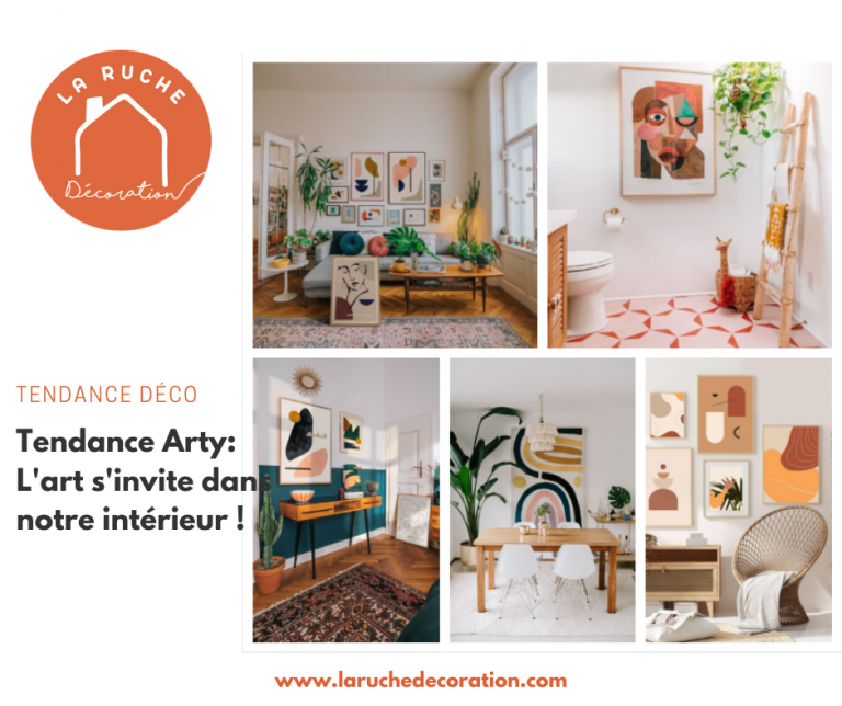 Tendance Arty : quand l'art s'invite dans notre intérieur !