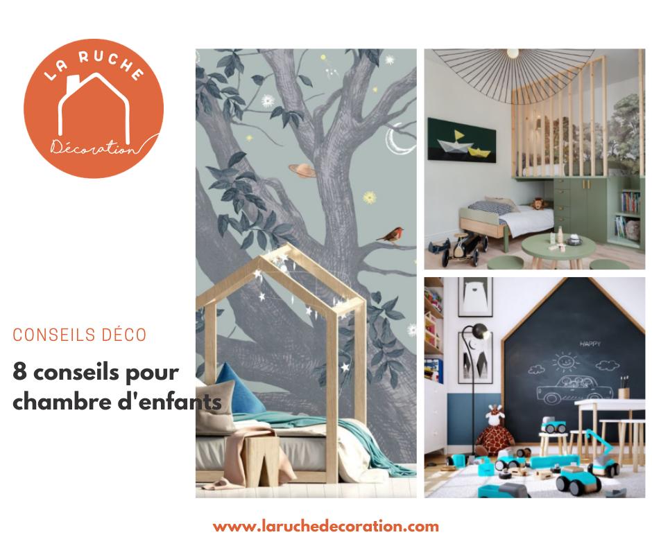 8 conseils pour créer une chambre d'enfant idéale !